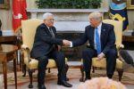 ترامب: ملتزم بتحقيق سلام تاريخي وعباس يعمل بشجاعة من أجل السلام