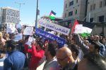 اعتصام متواصل لثلاثة ايام برام الله رفضا لقانون الضمان