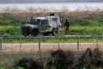 تضرر دورية اسرائيلية تعرضت لاطلاق نار جنوب شرق غزة
