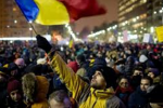 مظاهرات التغير بين'بوخارست'  وساحة التحرير ....حميد الحريزي