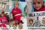 ريال مدريد سيستقبل الطفل الفلسطيني دوابشة