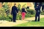 فيديو: شاهد كيف تعامل رجال شرطة مع فتاة مخمورة !؟