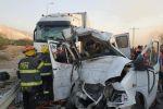 مصرع 6 عمال فلسطينيين من القدس في حادث سير مروع