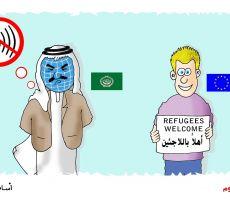 أهلا باللاجئين...أسامة نزال
