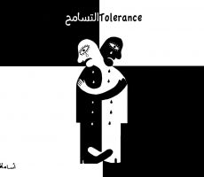 كاريكاتير الوسط اليوم...لوحة للفنان اسامة نزال