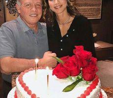 هكذا احتفلت الملكة رانيا والملك عبدالله بالفالنتين