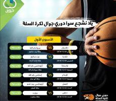 الاتحاد الفلسطيني لكرة السلة يطلق دوري جوال الممتاز