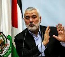 هنية يطالب بايدن بإلغاء قرار القدس عاصمة لإسرائيل