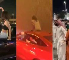 انتشار مقاطع لحالات تحرش في اليوم الوطني السعودي