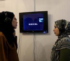 ' مواجهة ' رؤية بصرية معاصرة للتشكيلية رفُيدة سحويل بتقنية 'الفيديو آرت' كأول معرض فردي فلسطيني