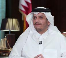 وزير الخارجية القطري يكشف سبب عدم تطبيع الدوحة مع إسرائيل