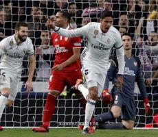 ريال مدريد يتلاعب بإشبيلية في الكأس بدون BBC