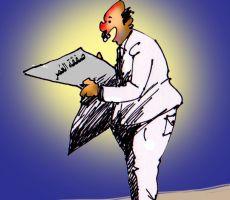 كرتون ' صفعة العمر'....عبد الهادي شلا