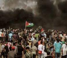 غزة : استعدادات لـ'جمعة المقاومة خيارنا' ضمن مسيرات العودة
