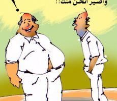 كلها ساعتين!!!...للفنان التشكيلي عبد الهادي شلا