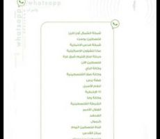 مجموعة ' حركة فتح بشرق غزة ' ضمن أفضل خمس مجموعات إخبارية على الواتس أب