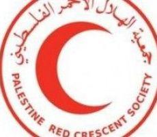 جمعية الهلال الاحمر الفلسطيني في الخليل تستجيب لجميع الحالات الطارئة