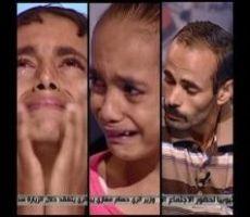فيديو:أب يفاجئ أبنائه بخبر وفاة والدتهم على الهواء