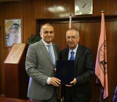 جامعة النجاح الوطنية ومجموعة الاتصالات الفلسطينية توقعان اتفاقية مساهمة الاتصالات في تمويل جزء من تكاليف انشاء وحدة التنوع الحيوي