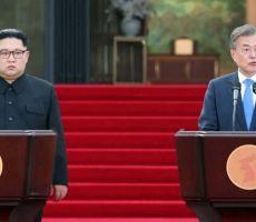 الكوريتان تفتتحان 'رمز السلام'