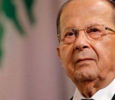 عون: توقيع إسرائيل عقود تنقيب عن النفط يتناقض مع مسار التفاوض