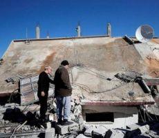 الاحتلال يهدم منزل عائلة أبو حميد في مخيم الأمعري