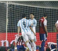 الأرجنتين تكتسح باراغواي بسداسية