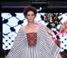 الكوفية الفلسطينية في عرض أزياء 'إسرائيلي'