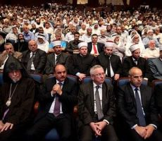 المؤتمر الإسلامي المسيحي يدعو رجال الدين والحاخامات اليهود لرفض الاعتداءات على المقدسات