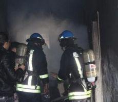 مصرع طفل في حريق مبنى في رام الله