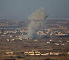 جيش الاحتلال يعلن عن قصف سيارة مدنية في القنيطرة السورية