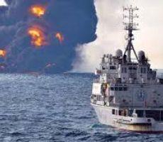 استهداف ناقلتي نفط عملاقتين في بحر عمان