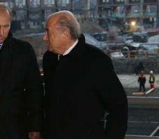 بوتين وبلاتر يلقيان كلمتي ترحيب في حفل قرعة تصفيات المونديال