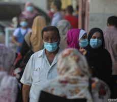 غزة: 5 وفيات و610 إصابات جديدة بكورونا