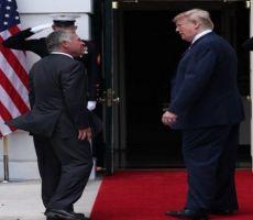 ترامب يعلن خلال اجتماعه مع العاهل الأردني عن تقدم كبير في الشرق الاوسط