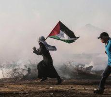 استئناف مسيرات العودة على حدود قطاع غزة