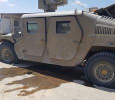 استهداف مركبة للاحتلال الاسرائيلي بعبوة ناسفة من طائرة غزية مسيرة