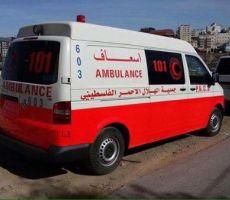 مصرع مواطنة واصابة 4 بحادث سير جنوب نابلس
