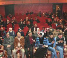 على مسرح عمون وبرعاية الهباهبه حفل  اشهار كتاب مذكرات مجنون في مدن مجنونة للكاتب محمد  صوالحة