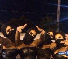 """أربع فتيات يرقصن """"شبه عاريات"""" بالرياض.. والسلطات تبرر: """"عربيات الجنسية"""" !!"""