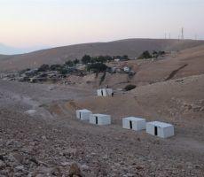 الاحتلال يهدم قرية الوادي الأحمر الجديدة
