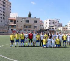بالصور ...جمعية أهالي يالو الخيرية تختتم بطولة العودة للقدامى الأولى