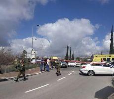 مقتل ثلاثة اسرائيليين واصابات خطيرة جدا بعملية مركبة قرب سلفيت(صور)