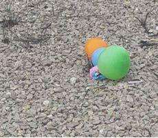 اسرائيل تحذر حماس::سقوط بالونات متفجرة في بيت شيمش قضاء القدس