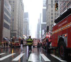 مصرع شخص جراء تحطم مروحية فوق مبنى بنيويورك
