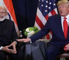 تصريح ترامب الذي جحظت بعده عينا رئيس وزراء الهند
