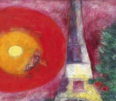 لوحة مسروقة لشاغال تطرح في مزاد إسرائيلي للفنون التشكيلية