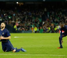 شاهد.. خطأ كارثي لبنزيما يتسبب في خسارة ريال مدريد