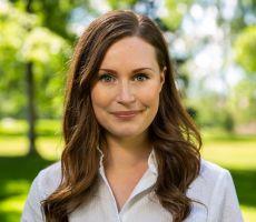 أصغر امرأة تترأس حكومة في فنلندا