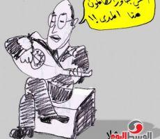 جاوز الظالمون منا المدى!!!- كرتون من الفنان عبد الهادي شلا